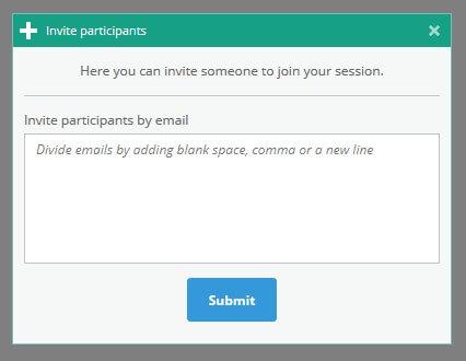 Invite participants from the virtual classroom