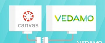 use VEDAMO VirtualClassroom directly from the Canvas LMS