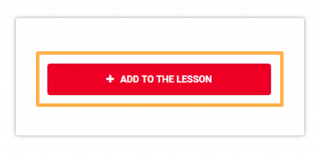 Click Add to the lesson to assign the teacher to the selected course
