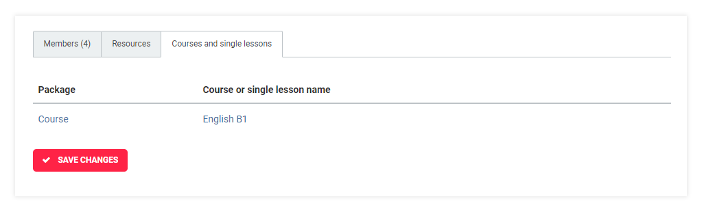 LMS User Groups: Check which courses and lessons the whole group is enrolled in
