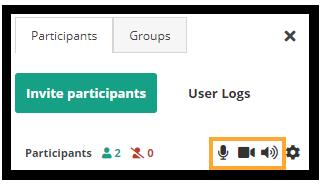 Participant Controls in the Virtual Classroom: Control All Participants Menu
