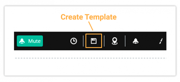 In order to create a template click on Create Template
