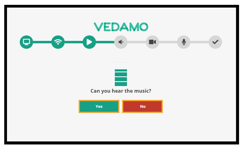 Virtual Classroom - System Check: Sound