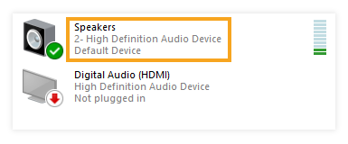 Why can I not hear other participants in the Virtual Classroom: Default device