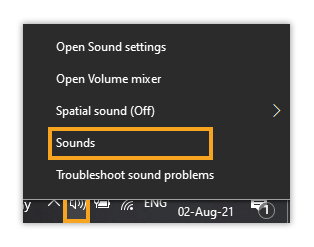 Why can I not hear other participants in the Virtual Classroom: Sounds menu