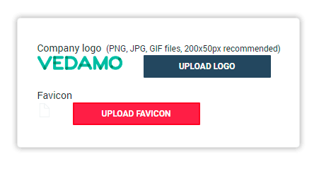 To upload your own personal favicon use the Upload Favicon functionality