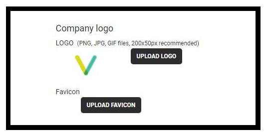 Custom Branding: Your company's logo will replace Vedamo's default logo