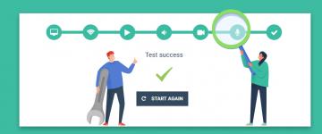 virtual classroom system check