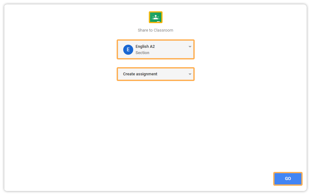Vedamo integrated with Google Classroom