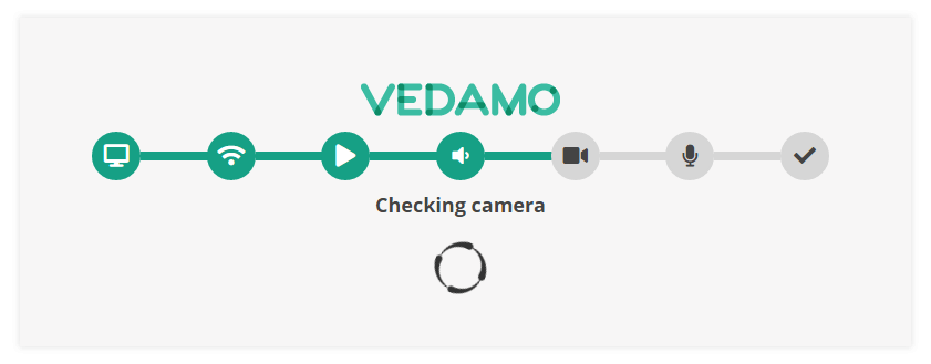 How to use VEDAMO Virtual Classroom as an Instructor in Brightspace by D2L: system check before entering the session
