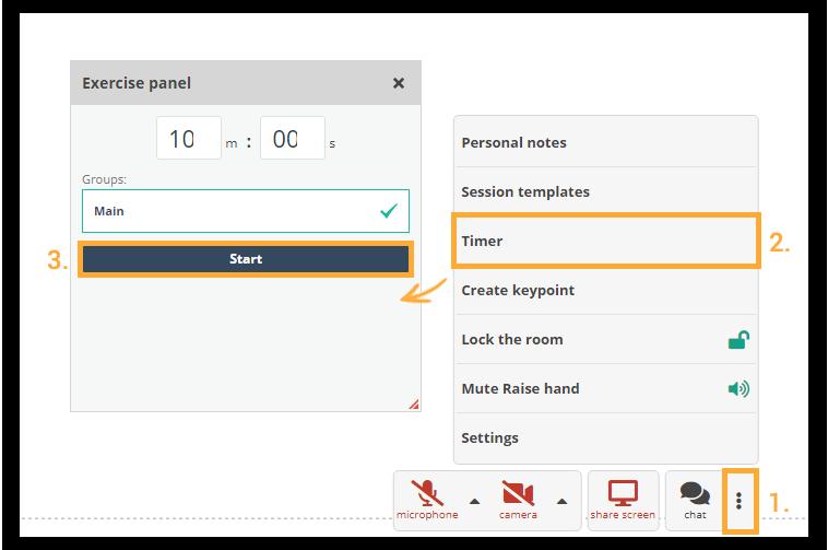 Virtual Classroom Timer